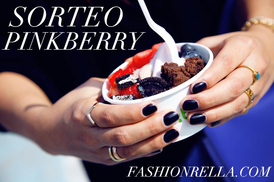 sorteo pinkberry fashionrella