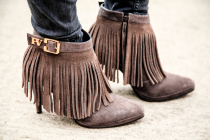 FRINGED SHOES